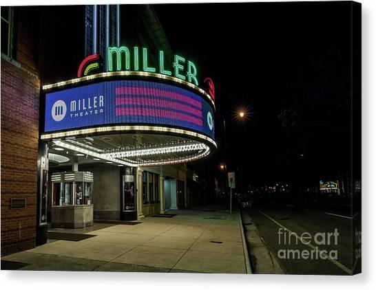 Miller Theater Augusta Ga 2 Canvas Print