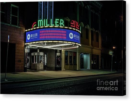 Miller Theater Augusta Ga Canvas Print