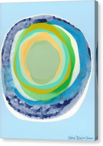 Canvas Print - Mindfully by Claire Desjardins