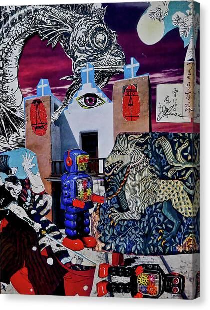 Mind's Eye Canvas Print