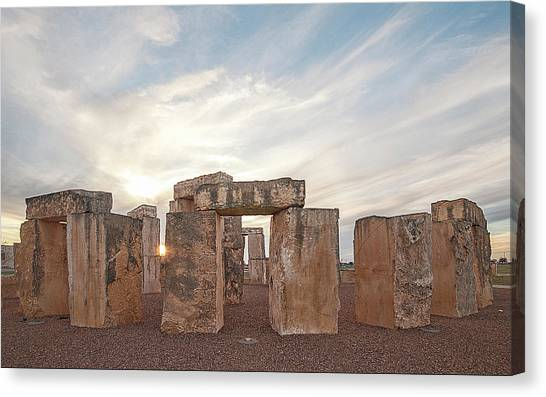 Mini Stonehenge Canvas Print
