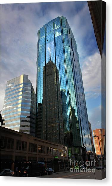 Minneapolis Skyline Photography Foshay Tower Canvas Print