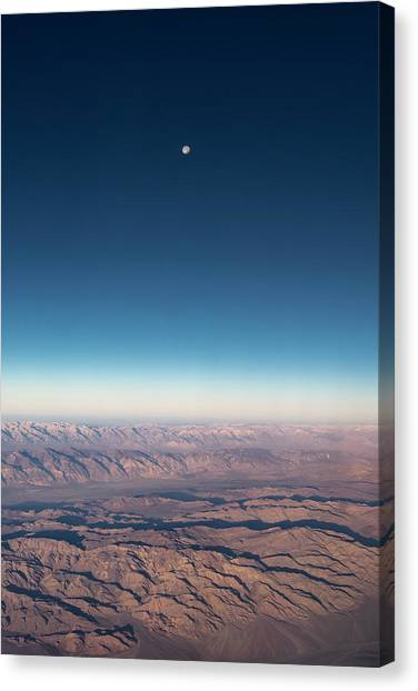 Missing Earth Canvas Print