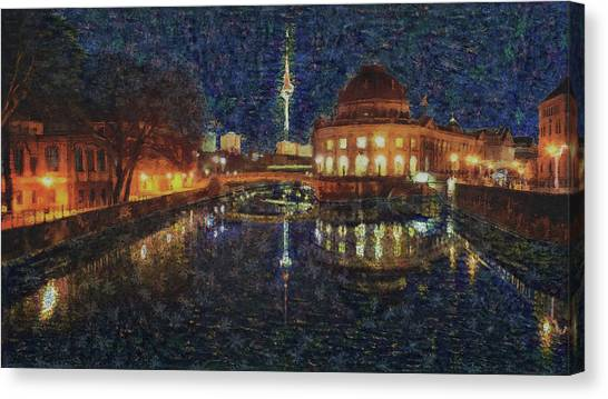 Mist Of Impressionism. Berlin. Canvas Print