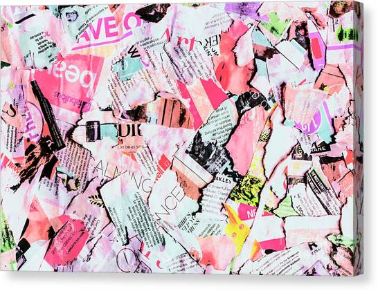 Mixed-media Canvas Print - Mixed Media Messages by Jorgo Photography - Wall Art Gallery