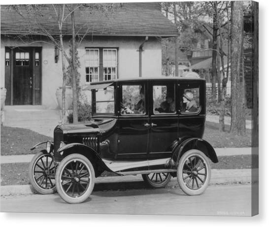 Model T Ford Canvas Print by Three Lions