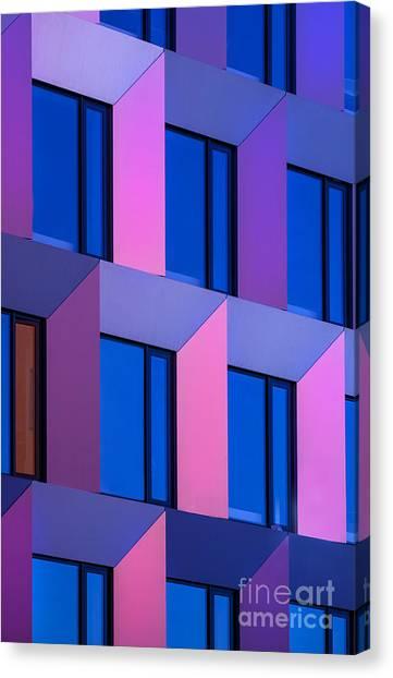 Urban Life Canvas Print - Modern Building by Jirkabursik