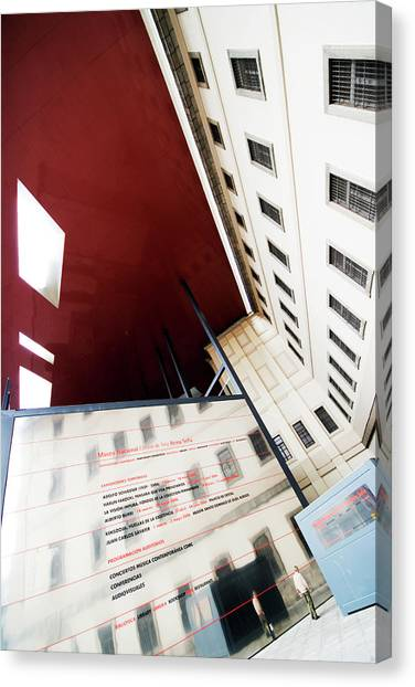 Modern Extension Of Centro De Arte Canvas Print