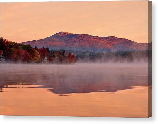 Monadnock Sunrise Canvas Print
