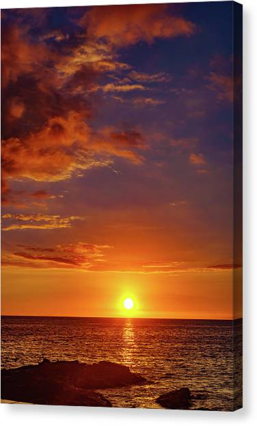 Monday Sunset Canvas Print