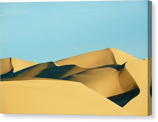 Gobi Canvas Print - Mongolia, Gobi Desert, Khongoryn Els by Tuul & Bruno Morandi
