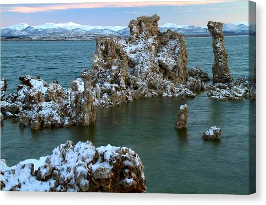 Mono Lake Tufa Towers Sunrise Canvas Print