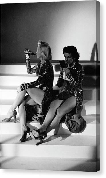 Monroe & Russell Canvas Print