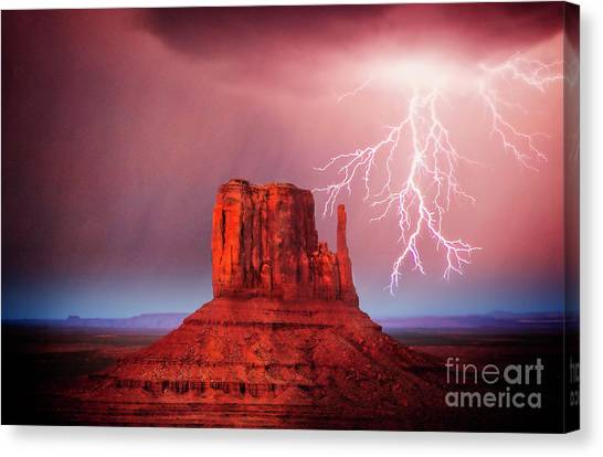 Monsoon Storm Canvas Print