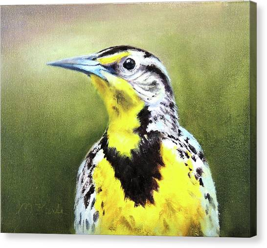 Montana Meadowlark Canvas Print