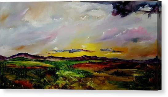 Montana Summer Storms        5519 Canvas Print