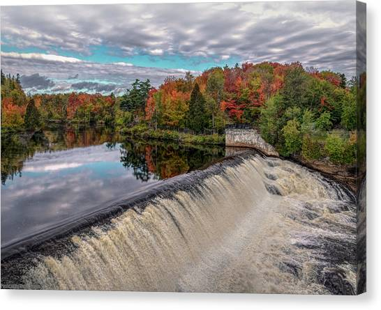 Montmorency Falls Canvas Print