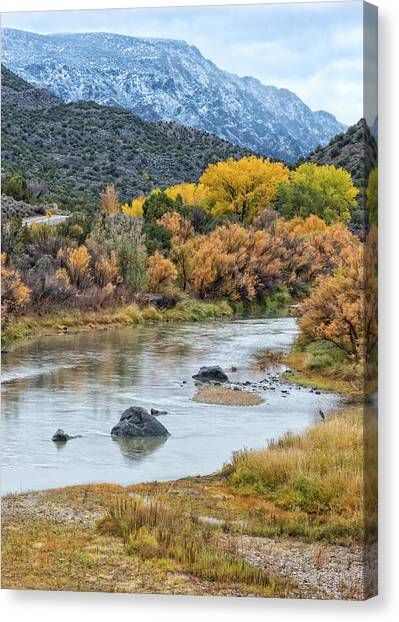 Monument Autumn Canvas Print