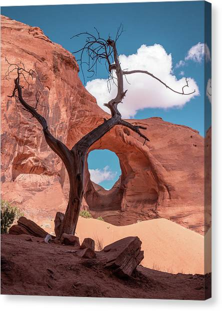 Monument Valley IIi, Ear Of The Wind Canvas Print