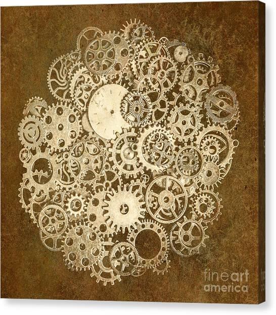 Tool Canvas Print - Moon Mechanics by Jorgo Photography - Wall Art Gallery