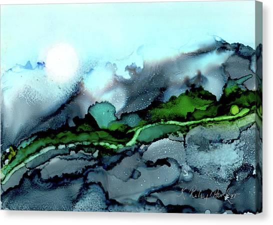Moondance Iv Canvas Print