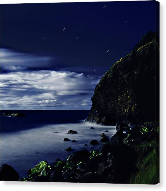 Moonlight At Argyle Canvas Print