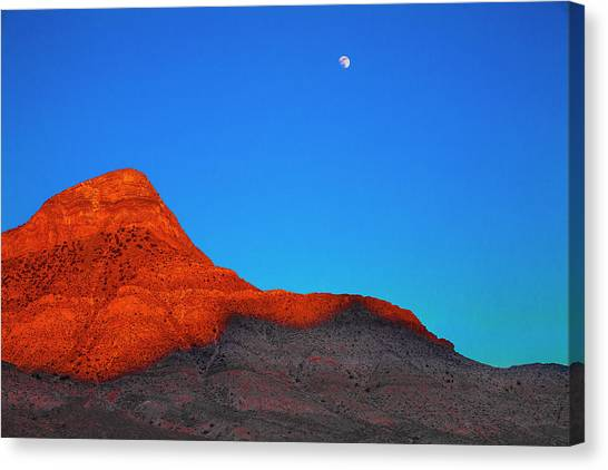 Moonrise Canvas Print by Fernando Margolles