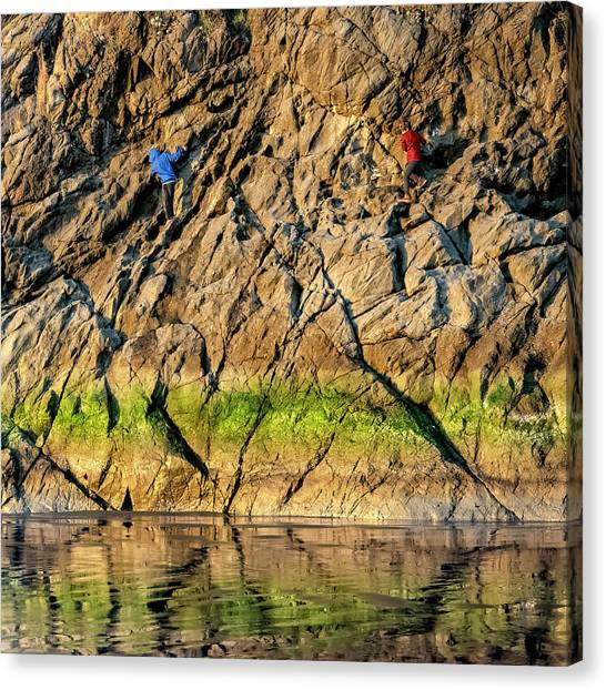 Canvas Print featuring the photograph Moonstone Rgb by Jon Exley