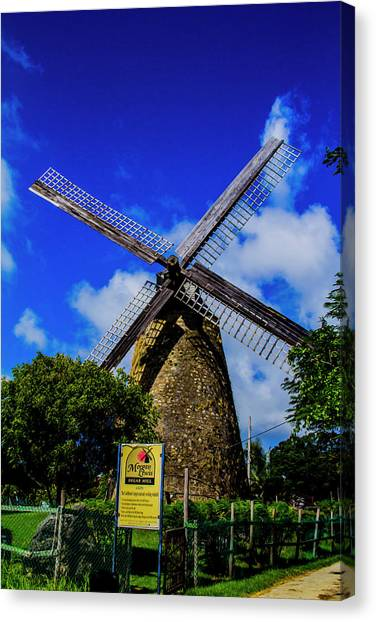 Morgan Lewis Mill Canvas Print