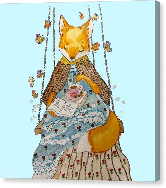 Morgan's Fox Canvas Print