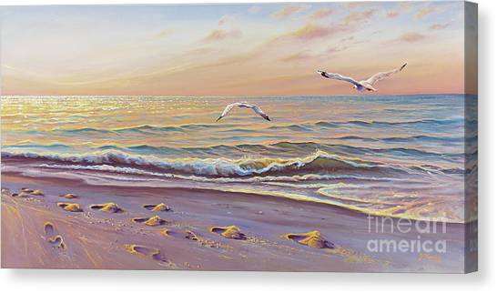 Morning Glisten Canvas Print
