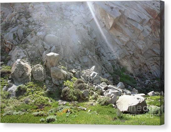Morro Rock Cluster Canvas Print