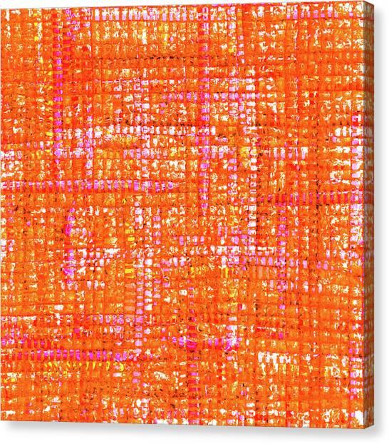 Mosaic Tapestry 3 Canvas Print