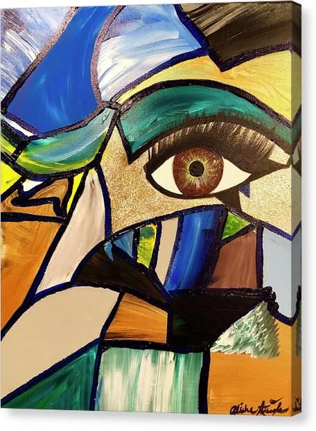 Motley Eye 5 Canvas Print