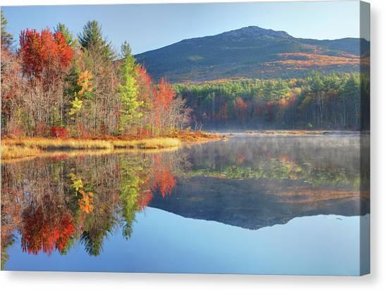 Mount Monadnock In Autumn Canvas Print by Denistangneyjr