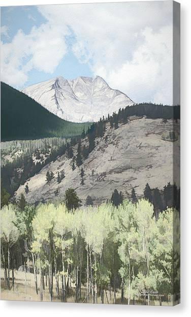Mount Ypsilon Canvas Print