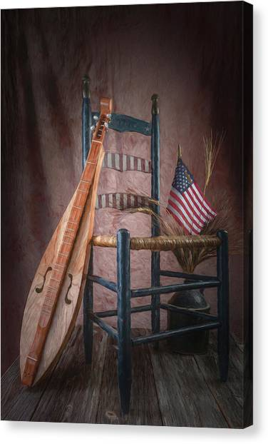 Appalachian Canvas Print - Mountain Music by Tom Mc Nemar