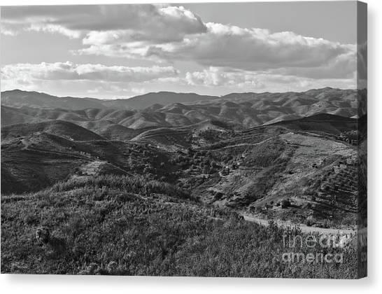 Mountain Paths Canvas Print
