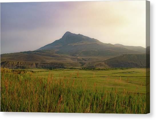 Mountain Sunrise Canvas Print