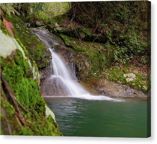 Mountain Waterfall II Canvas Print