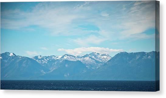 Mountains Of Lake Tahoe Canvas Print