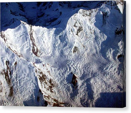 Mountaintop Snow Canvas Print