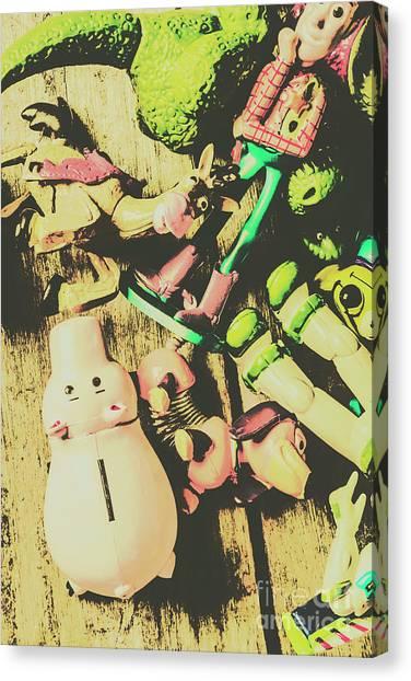 Figurine Canvas Print - Movie Memorabilia  by Jorgo Photography - Wall Art Gallery