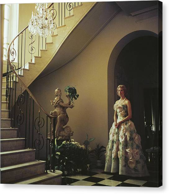 Muffy Bancroft Canvas Print by Slim Aarons