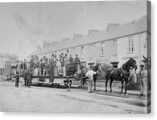 Mumbles Train Canvas Print by Hulton Archive