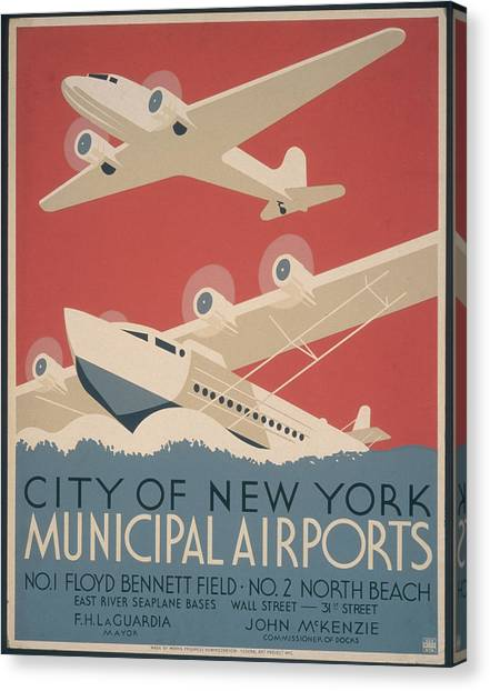 Municipal Airports Poster Canvas Print by Fotosearch