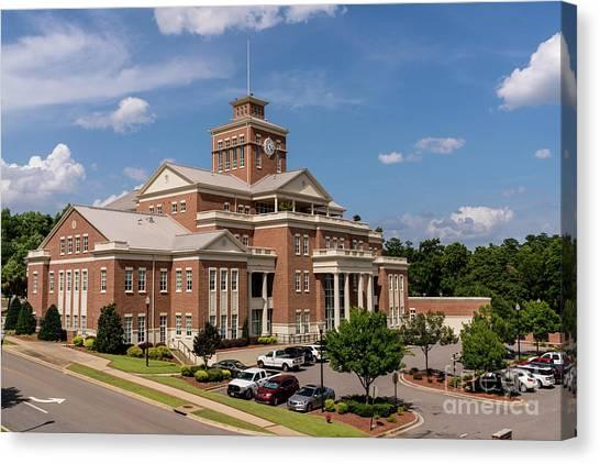 Municipal Building - North Augusta Sc Canvas Print