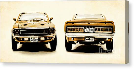 Automobile Canvas Print - Muscle Machine by Jorgo Photography - Wall Art Gallery