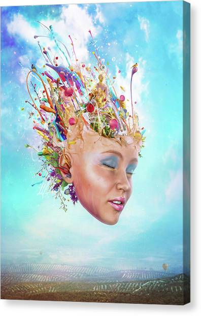 Flash Canvas Print - Muse by Mario Sanchez Nevado