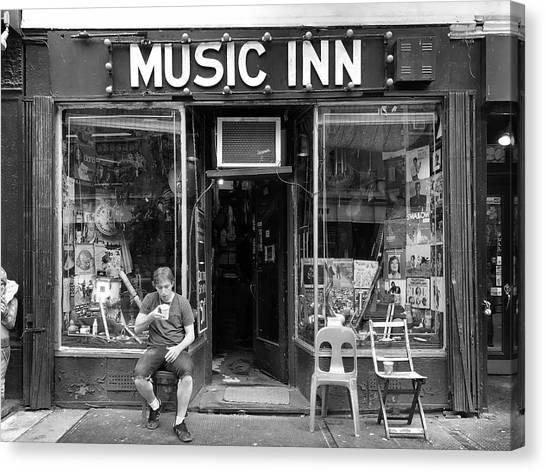 Music Inn Canvas Print